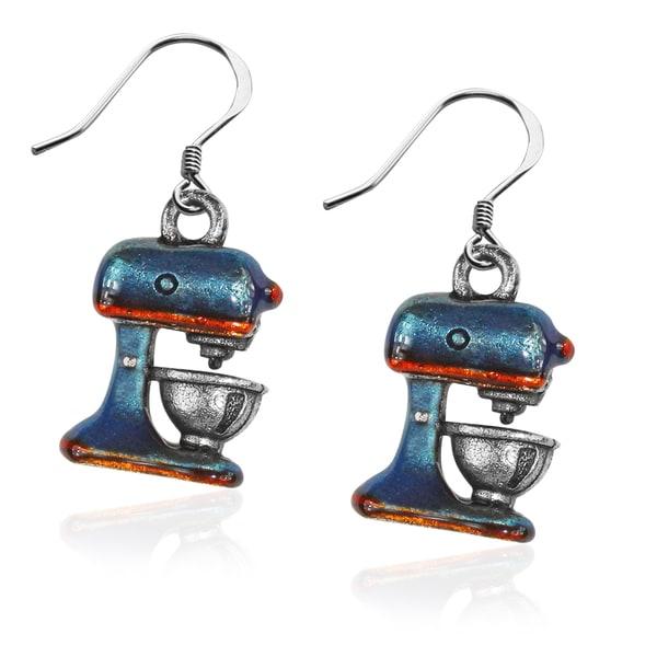 Mixer Charm Earrings in Silver