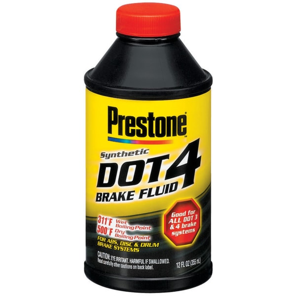 Prestone AS800Y 12 Oz Dot 4 Brake Fluid