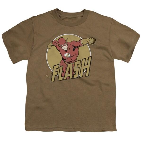 DCO/Flashy Short Sleeve Youth 18/1 in Safari Green