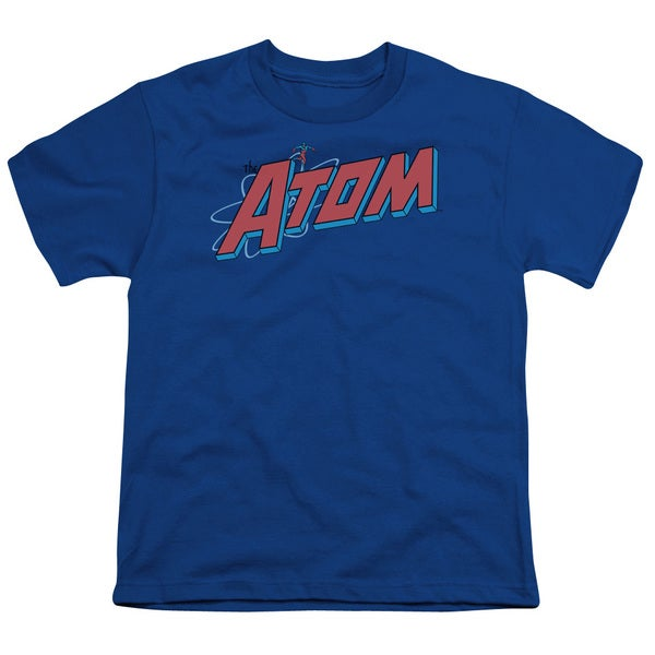 DC/The Atom Short Sleeve Youth 18/1 in Royal
