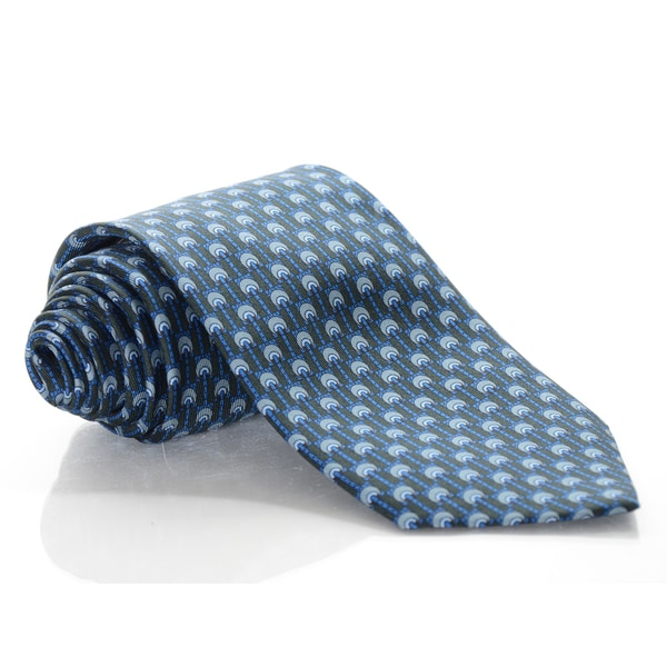 Brioni Silk Wheels Tie