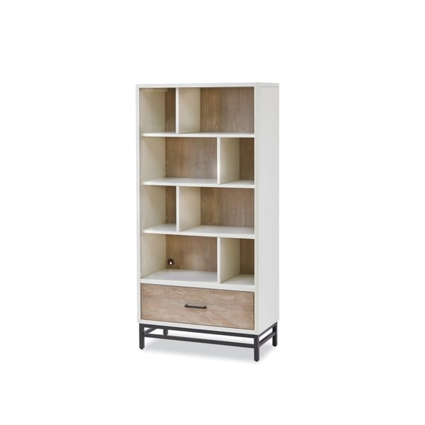 Universal Grey Wooden Bookcase