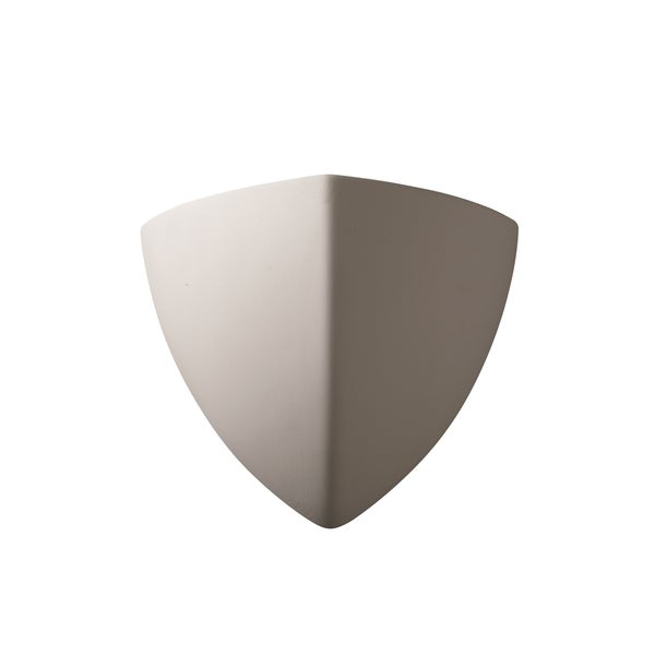 Justice Design Group Ambiance Bisque Small Abis Wall Sconce
