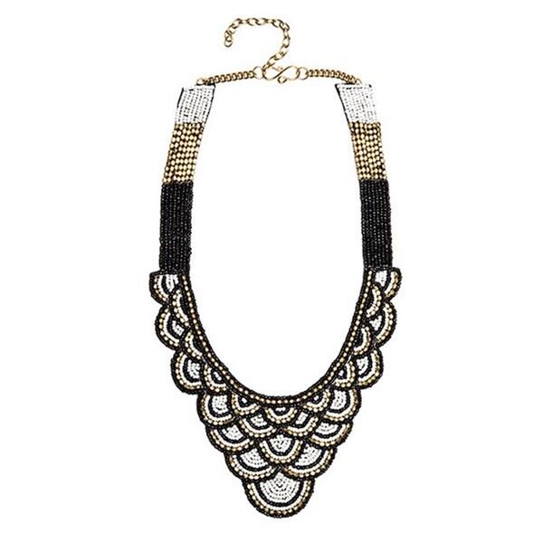 'Kushala' Scalloped Bead Collar (India)