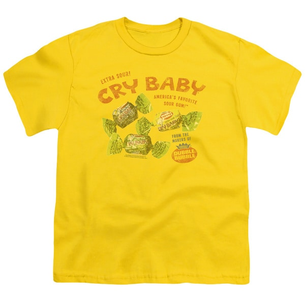 Cry Babies/Vintage Ad Short Sleeve Youth 18/1 Yellow