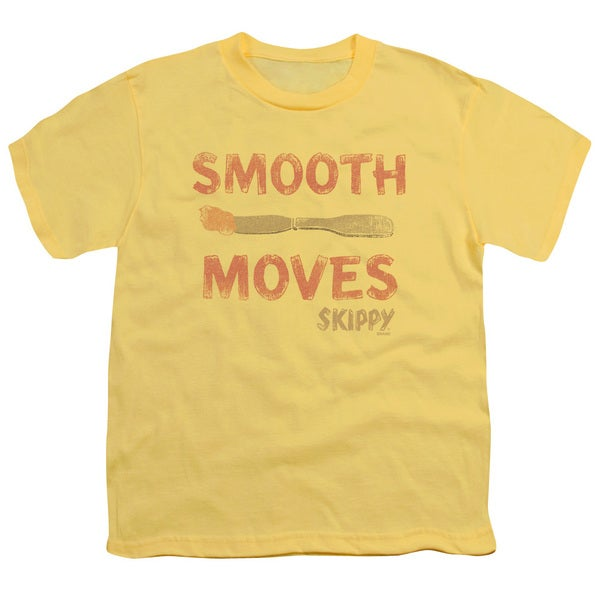 Skippy/Smooth Moves Short Sleeve Youth 18/1 in Banana/Trans Yellow