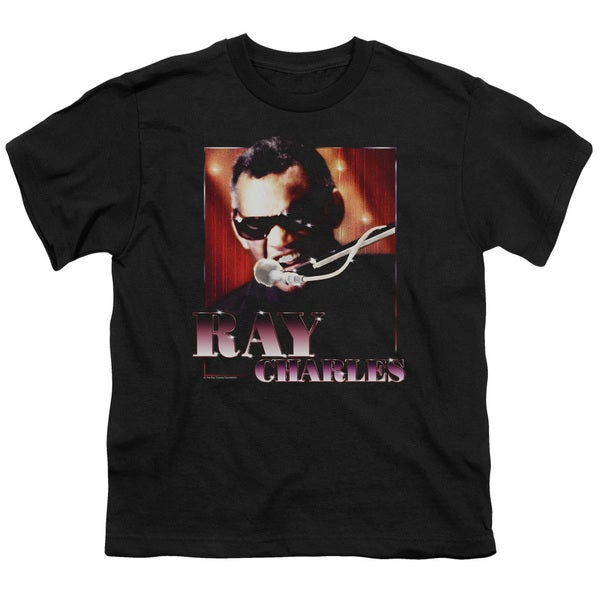 Ray Charles/Sing It Short Sleeve Youth 18/1 Black