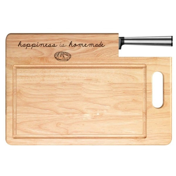 Happiness is Homemade Cutting Board