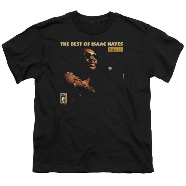 Isaac Hayes/Chain Vest Short Sleeve Youth 18/1 Black