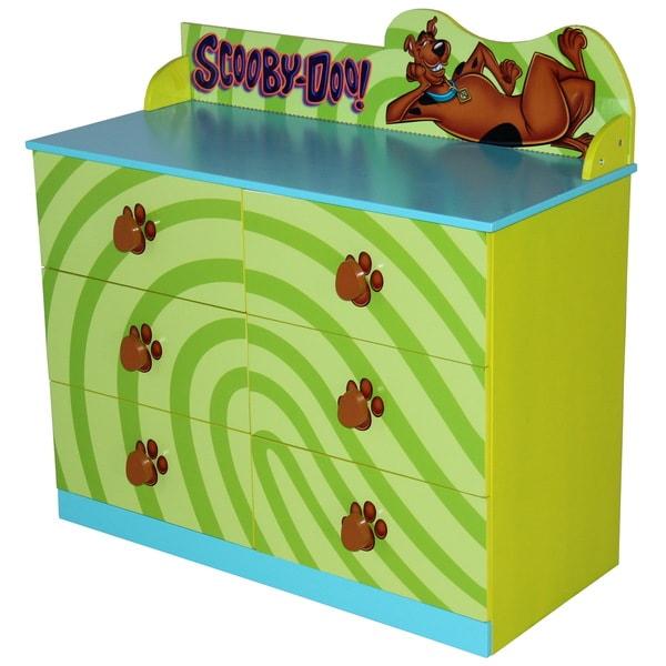 Green MDF Scooby Doo Dresser