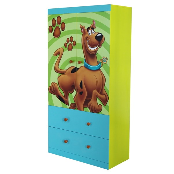 Scooby Doo MDF 2-drawer Wardrobe