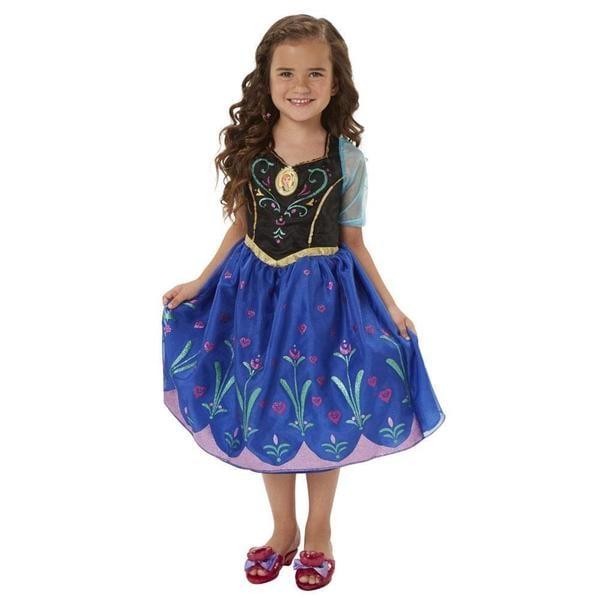 Jakks Pacific Disney Frozen Anna Blue Musical Light-up Dress