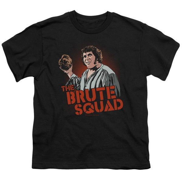 Pb/Brute Squad Short Sleeve Youth 18/1 in Black