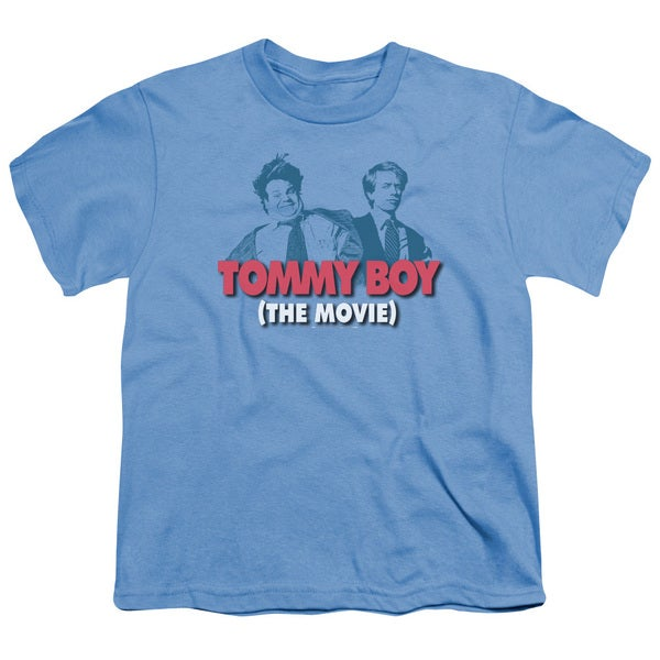 Tommy Boy/Logo Short Sleeve Youth 18/1 Carolina Blue
