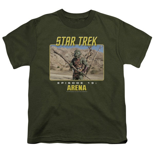 St Original/Arena Short Sleeve Youth 18/1 Military Green