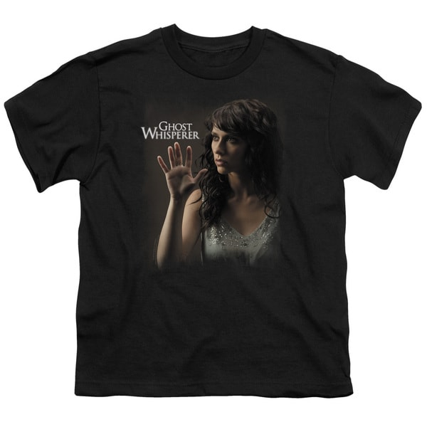 Ghost Whisperer/Ethereal Short Sleeve Youth 18/1 in Black