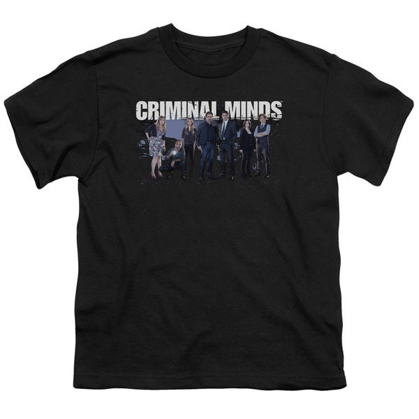 Criminal Minds/Season 10 Cast Short Sleeve Youth 18/1 Black