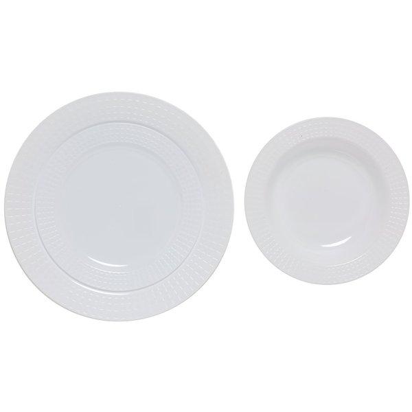 Table To Go White Plastic Plates (75-piece Set)