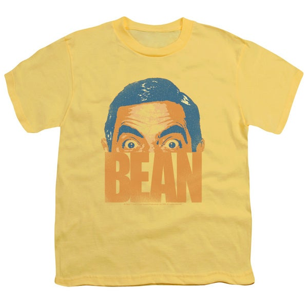 Mr Bean/Bean Short Sleeve Youth 18/1 in Banana