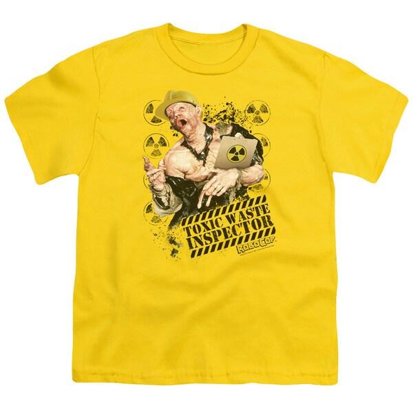Robocop/Toxic Waste Inspector Short Sleeve Youth 18/1 Yellow