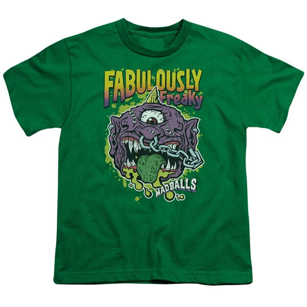 Madballs/Fabulously Freaky Short Sleeve Youth 18/1 in Kelly Green