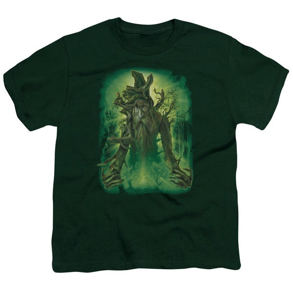 LOTR/Treebeard Short Sleeve Youth 18/1 in Hunter Green