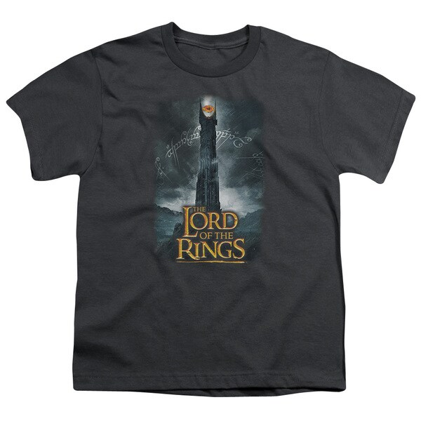 LOTR/Always Watching Short Sleeve Youth 18/1 Charcoal