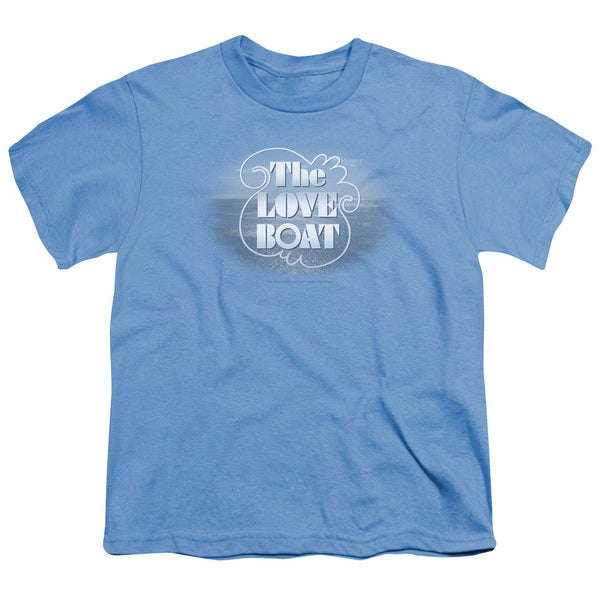 Love Boat/The Love Boat Short Sleeve Youth 18/1 Carolina Blue