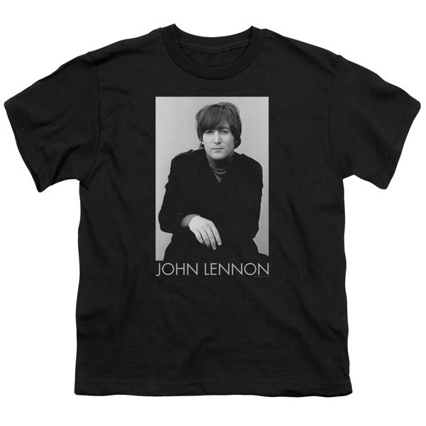 John Lennon/Ex Beatle Short Sleeve Youth 18/1 in Black