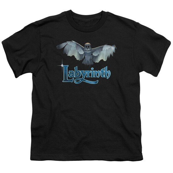 Labyrinth/Title Sequence Short Sleeve Youth 18/1 Black