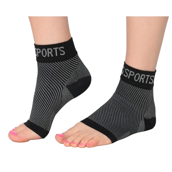 DG Sports Compression Socks with Arch and Ankle Support