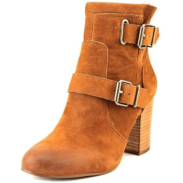 Vince Camuto Women's Simlee Brown Nubuck Boots