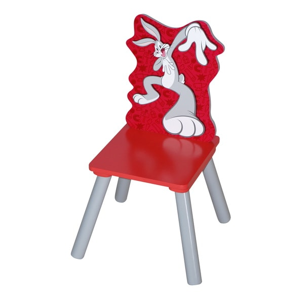 Kids' Rubber and MDF Bugs Bunny Chair