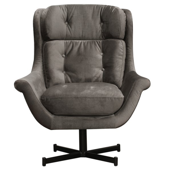 Caribou Dane Xavier Grey Lounge Arm Chair