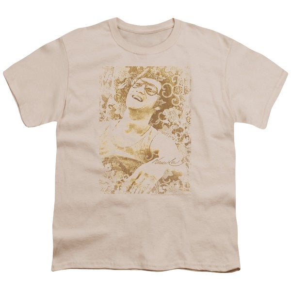 Bruce Lee/Freedom Short Sleeve Youth 18/1 in Cream