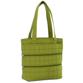 Lug USA Taxi Cab Black/Green/Grey Polyester Full Tote Bag