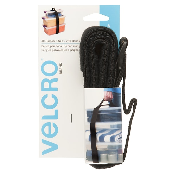 "Velcro 90482 2"" X 6' BlackAll Purpose Strap With Handle"