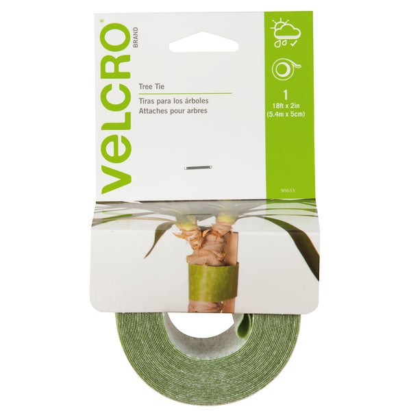 "Velcro 90633 2"" X 18' Green Tree Ties"