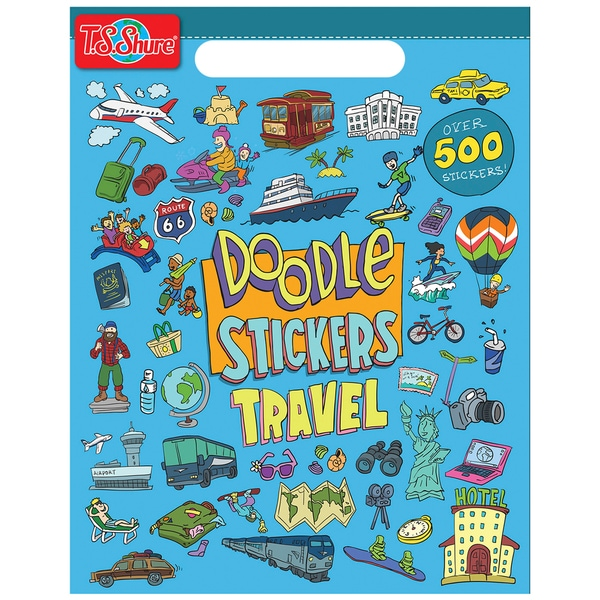 Doodle Travel Sticker Book