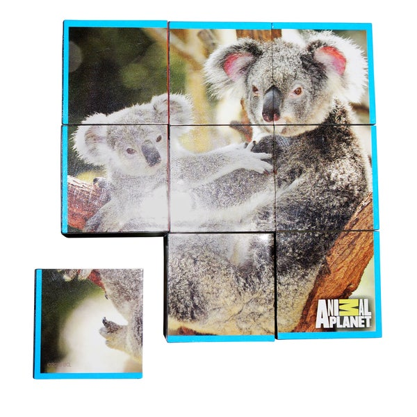 Animal Planet Big Cats Puzzle Cubes