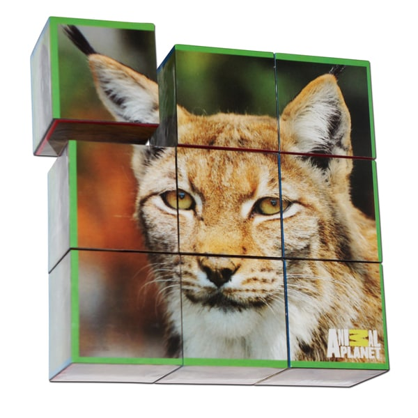Animal Planet Endangered Species Puzzle Cubes
