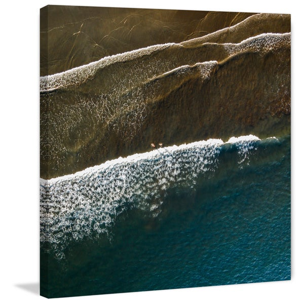 Marmont Hill - 'Color Changes' by Karolis Janulis Painting Print on Wrapped Canvas