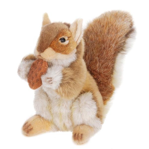 Hansa 9 Inch Brown Squirrel with Nut