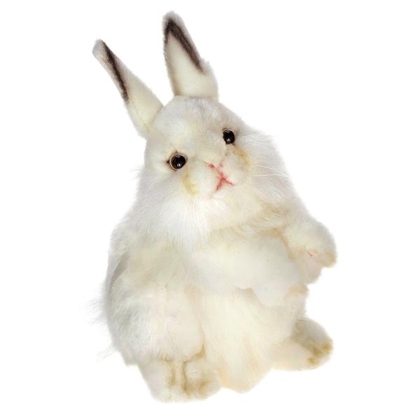 Hansa 13 Inch White Rabbit