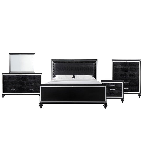 Picket House Vice King 5-piece Set in Black