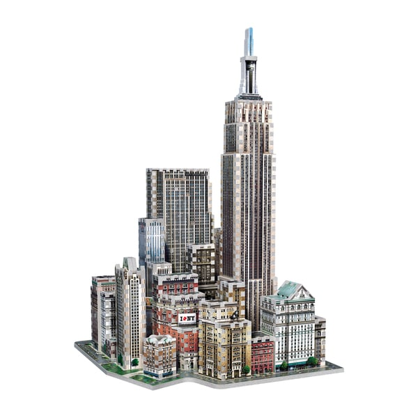 Wrebbit 2011 Midtown West New York 3D Puzzle