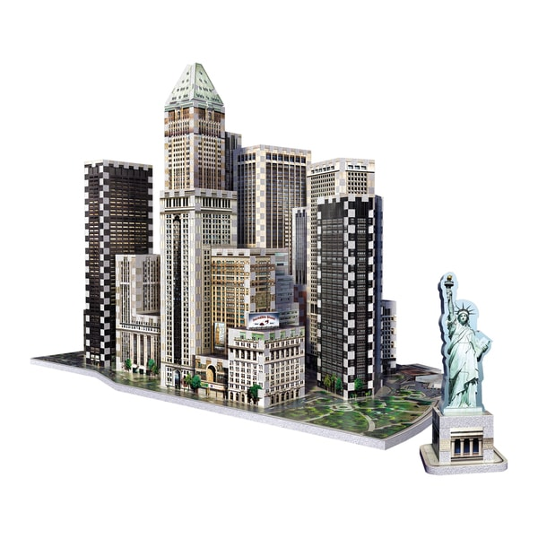 Wrebbit 2013 Financial District New York 3D Puzzle
