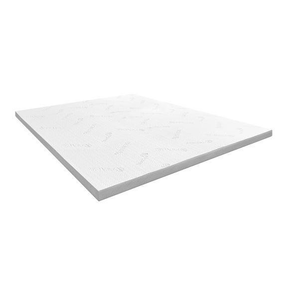 Blu Sleep 2-inch Latex Memory Foam Mattress Topper