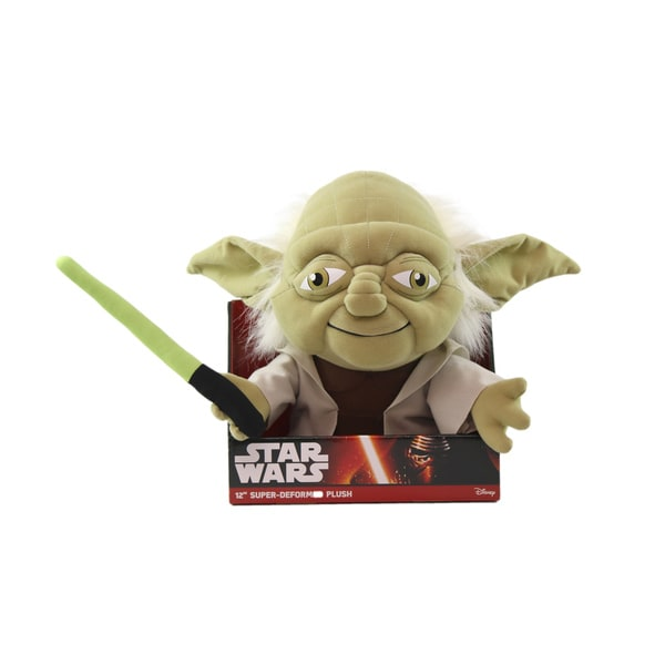 Comic Images Star Wars Yoda Large 12-inch Super-deformed Plush