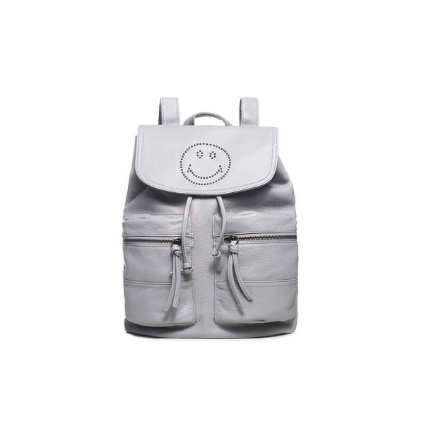 Mirella Smile Leather Backpack